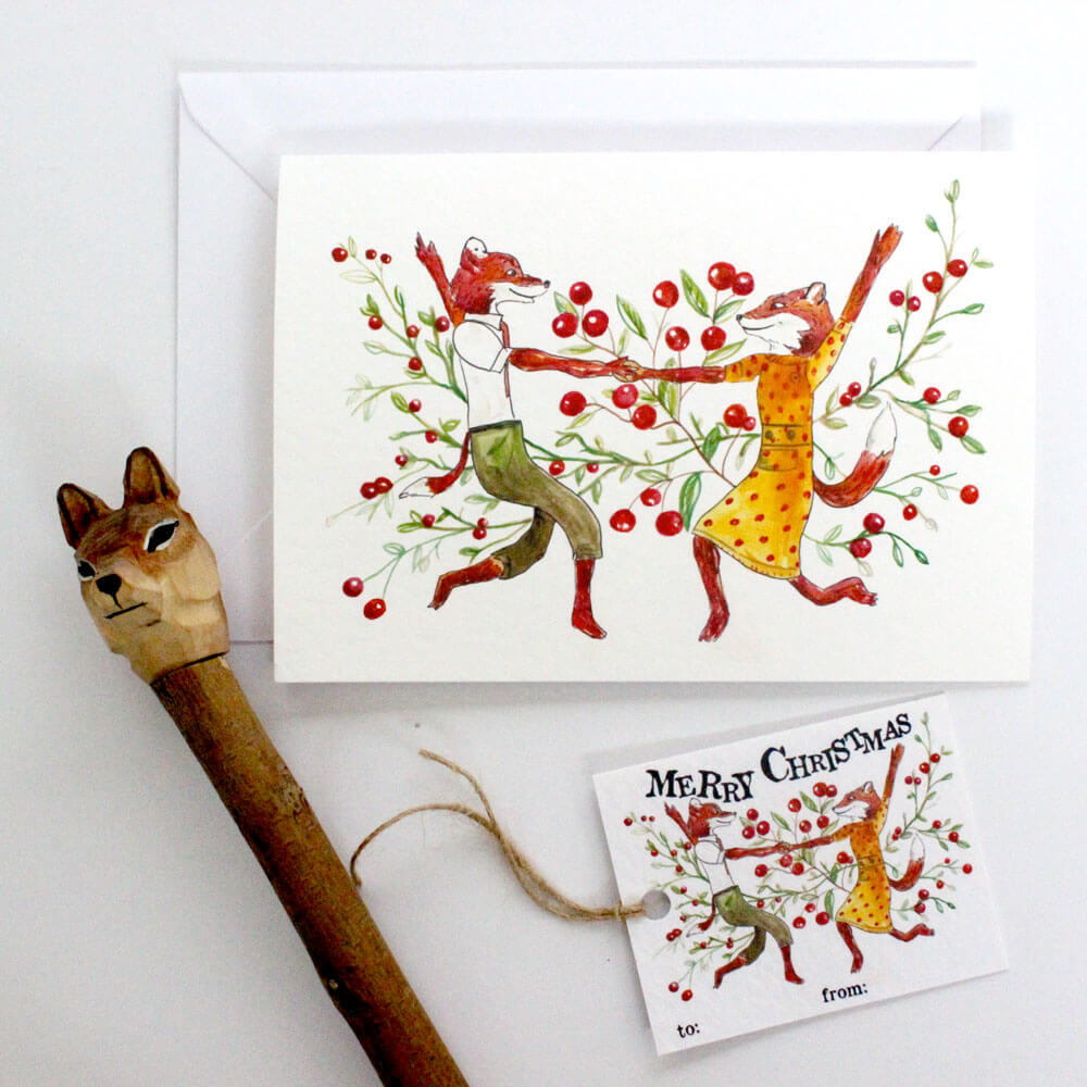 dancing-foxes-card