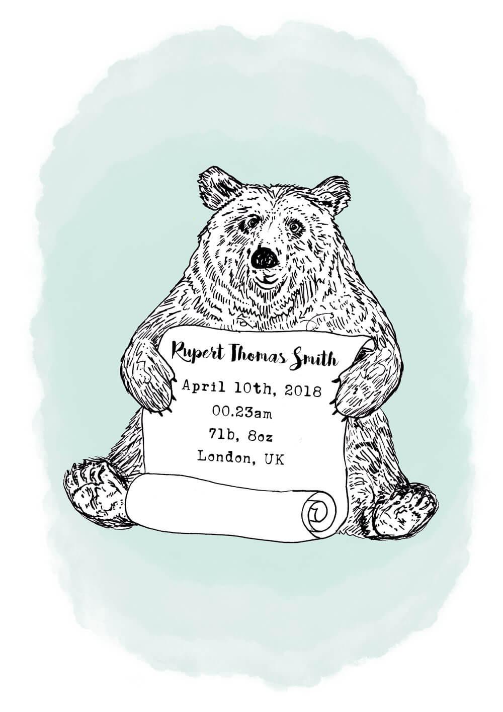 bear-nursery-art