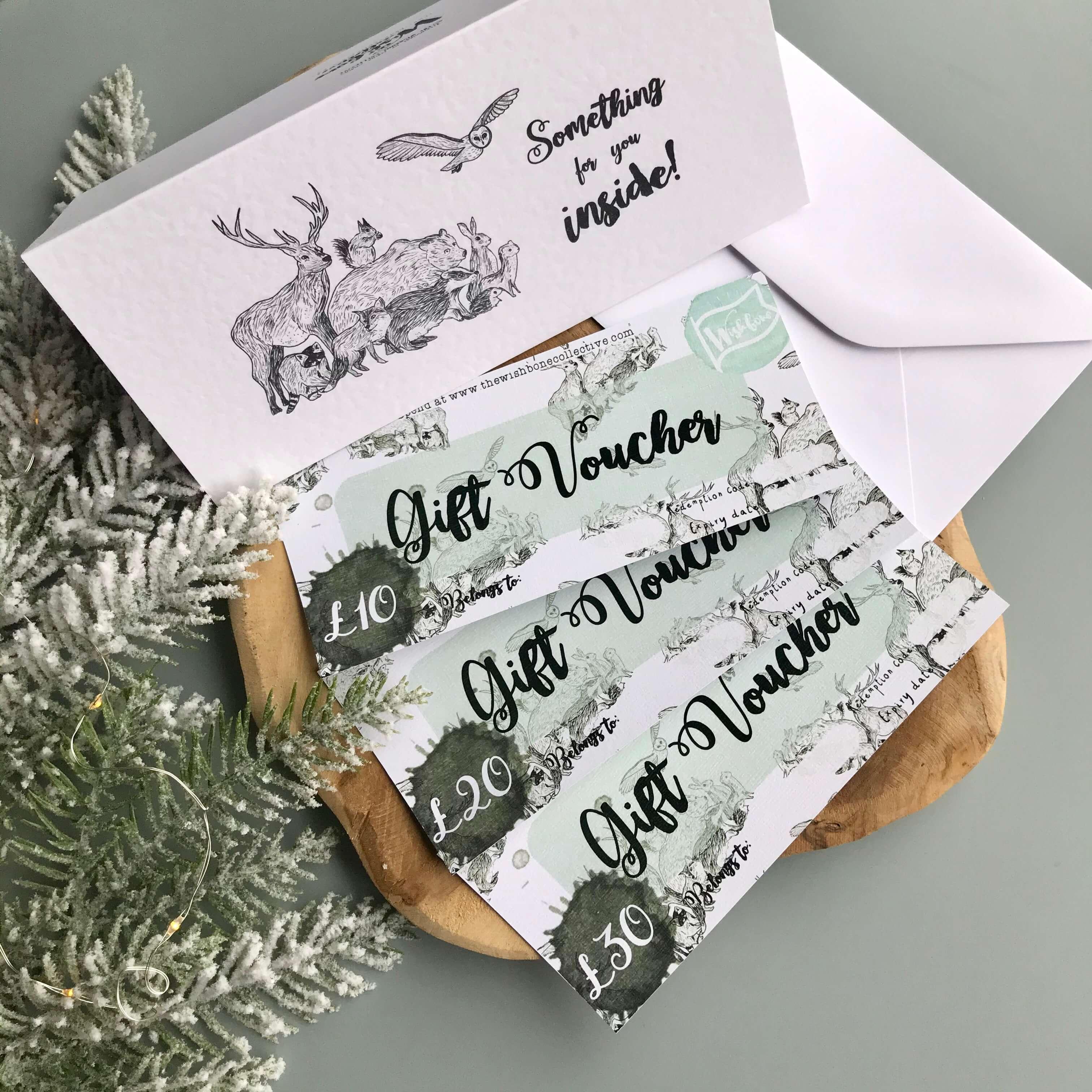 wishbone store gift voucher