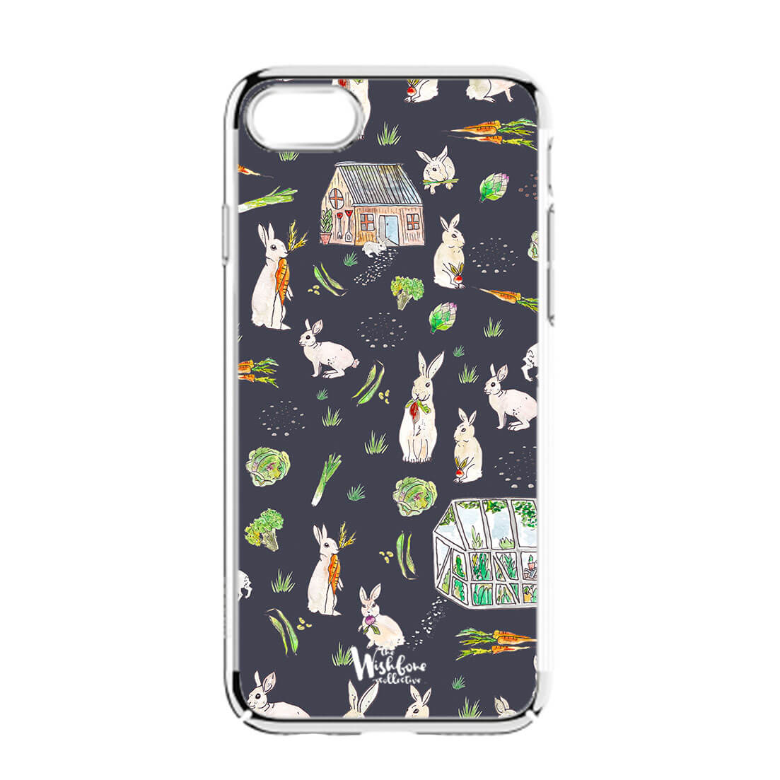 forraging-rabbits-iphone-case