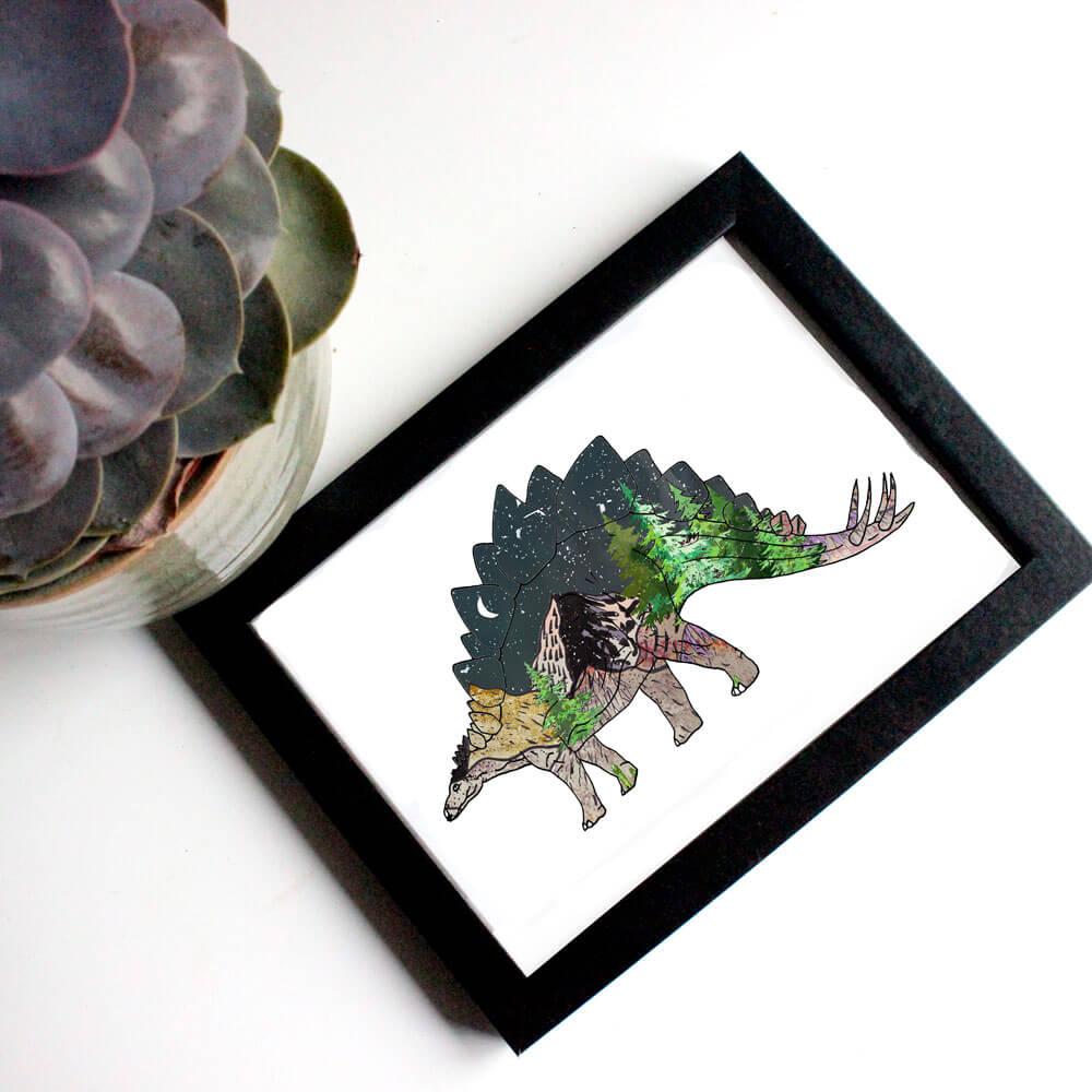 mountain---stegosaurus-print