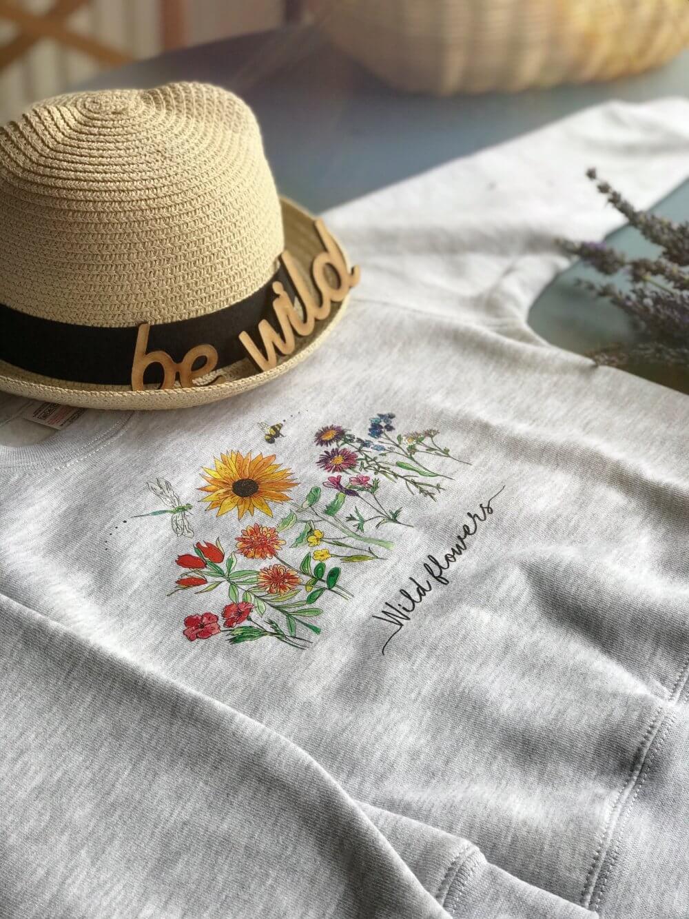 wild flower tshirts 333