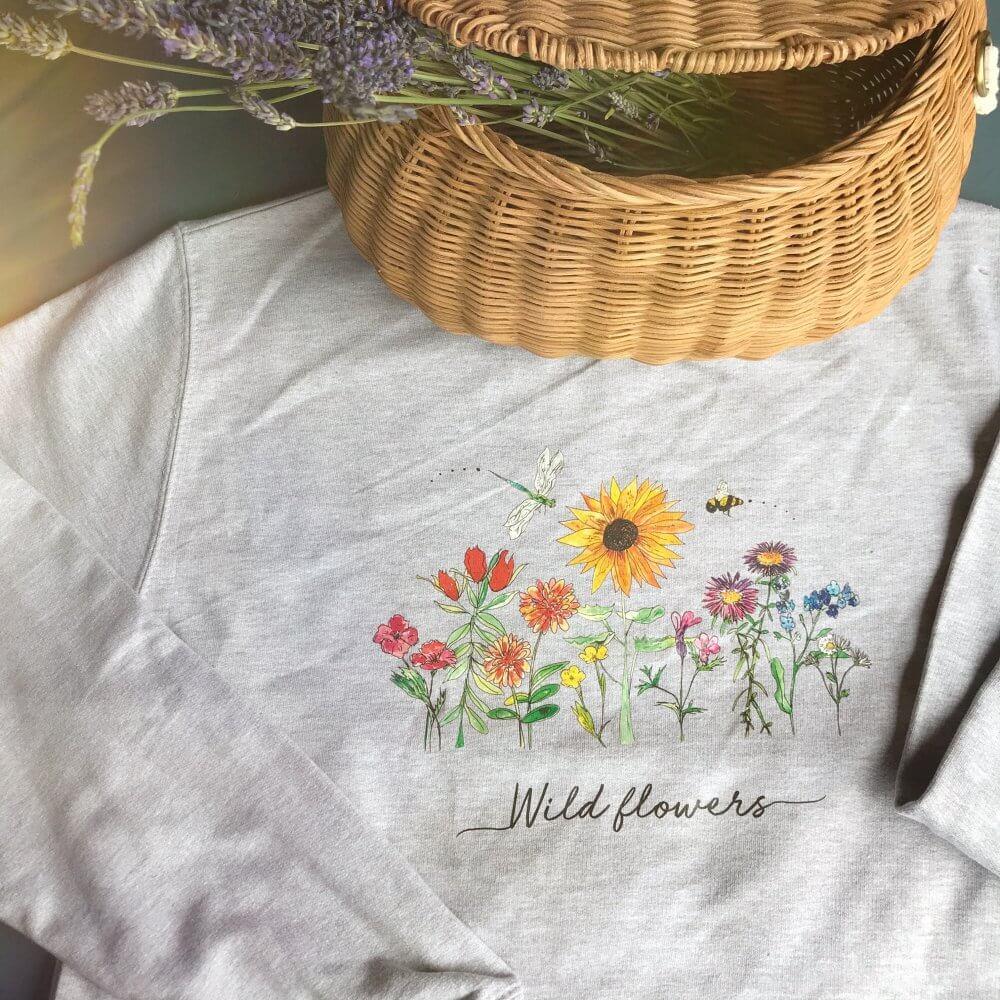 wild flower tshirts 43
