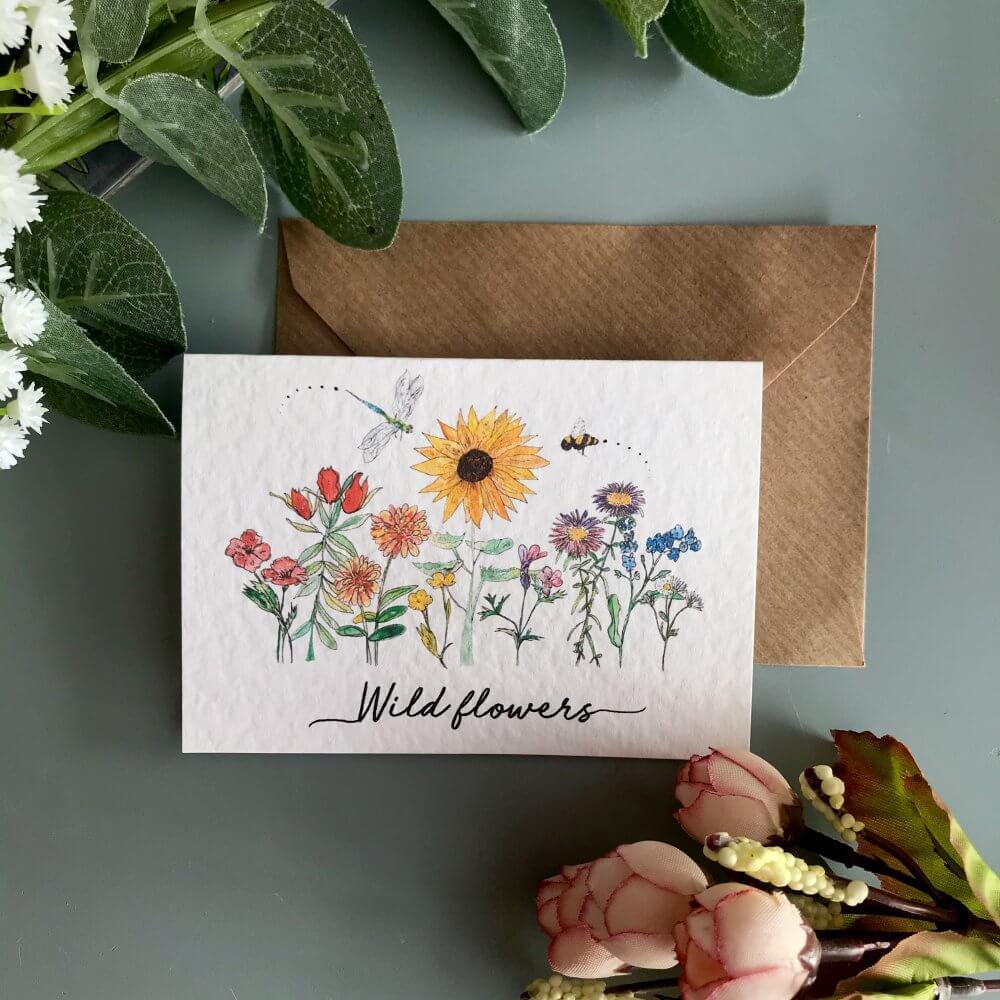 wild flowers cardIMG_4351
