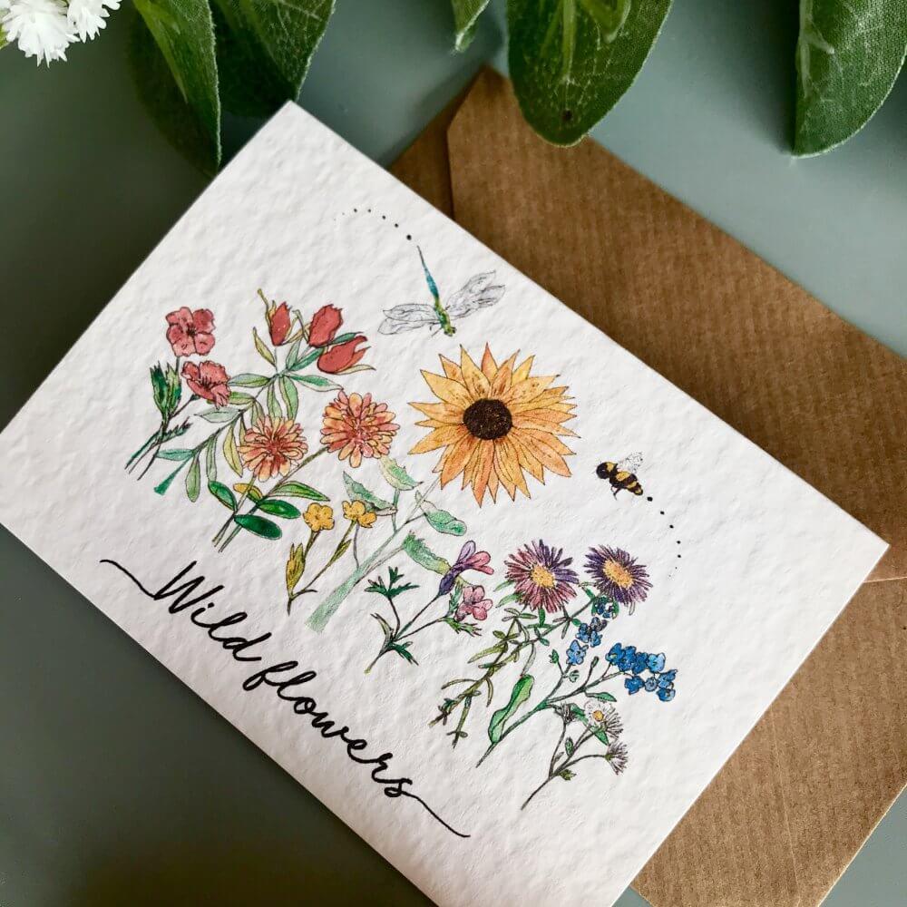 wild flowers cardIMG_4352