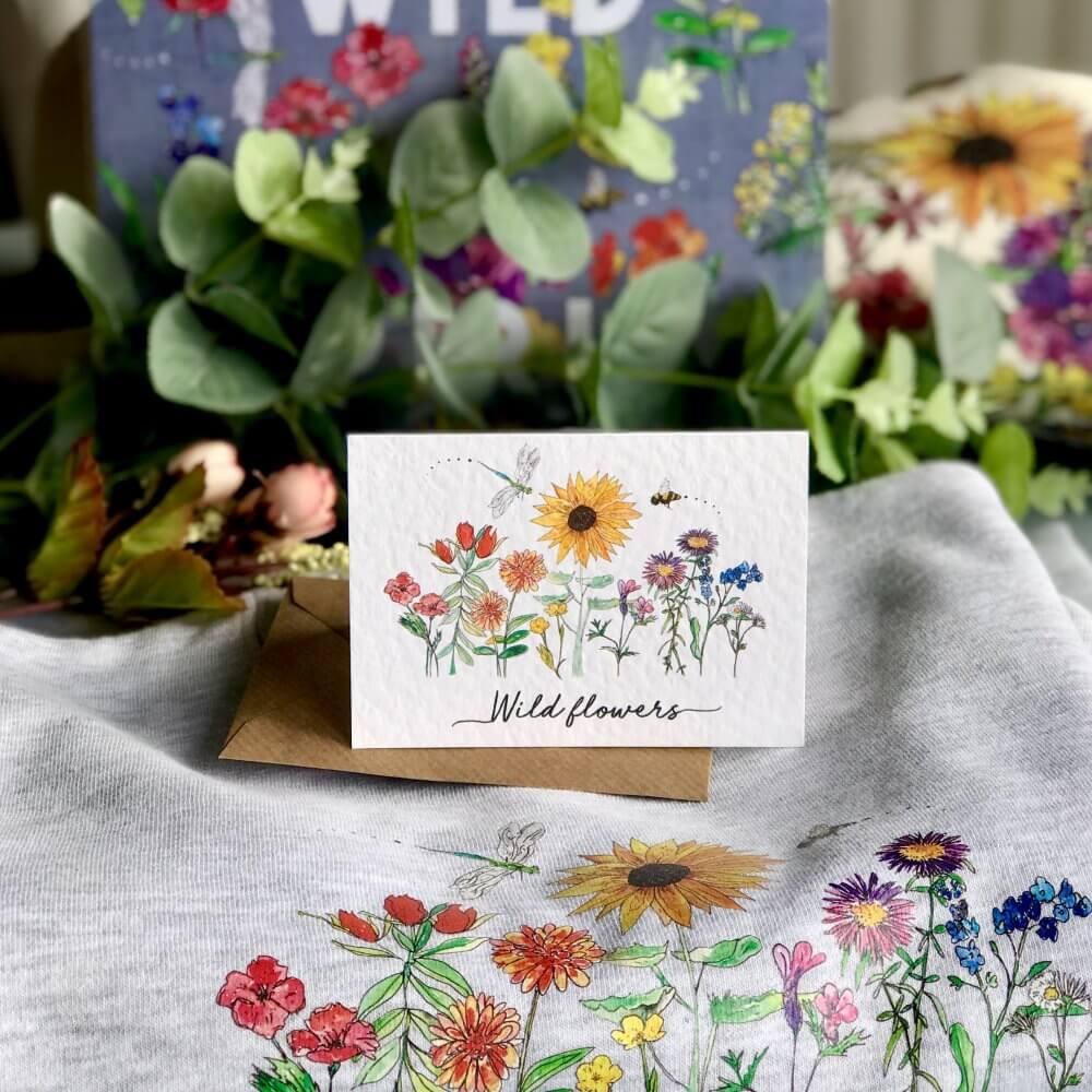 wild flowers cardIMG_4355