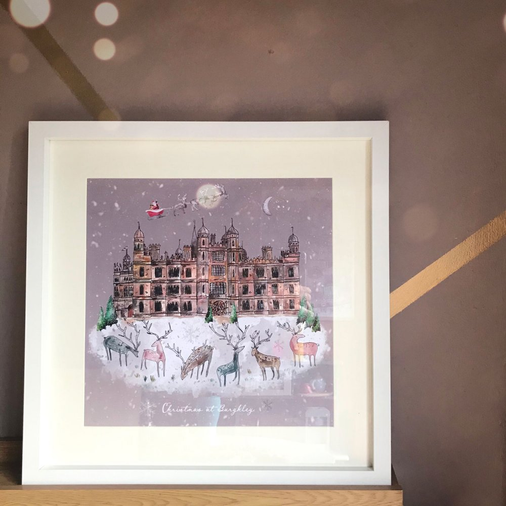 burghley-at-christmas-framed-store-photo