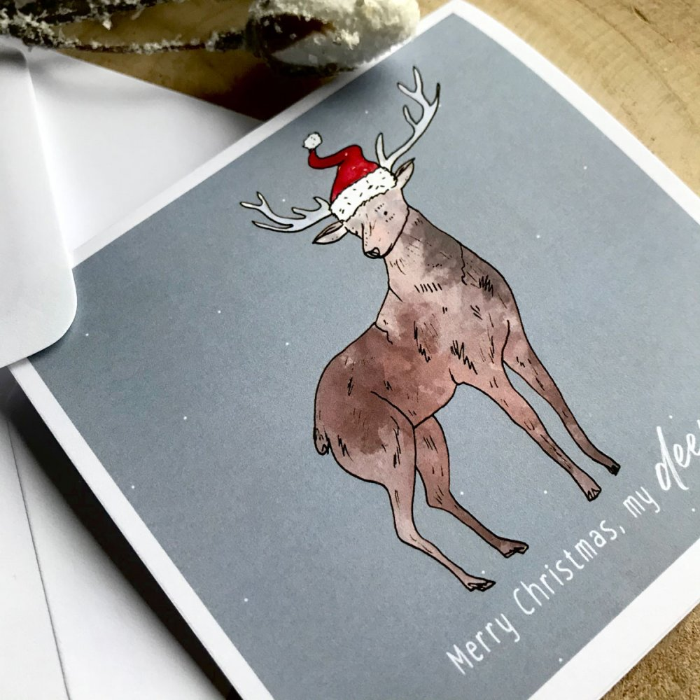 my-deer-christmas-card