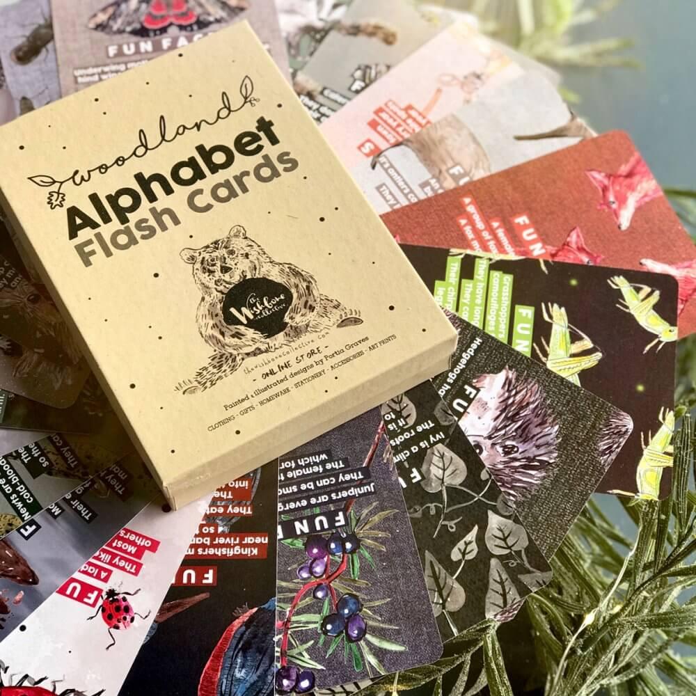 woodland-alphabet-flash-cards-pics