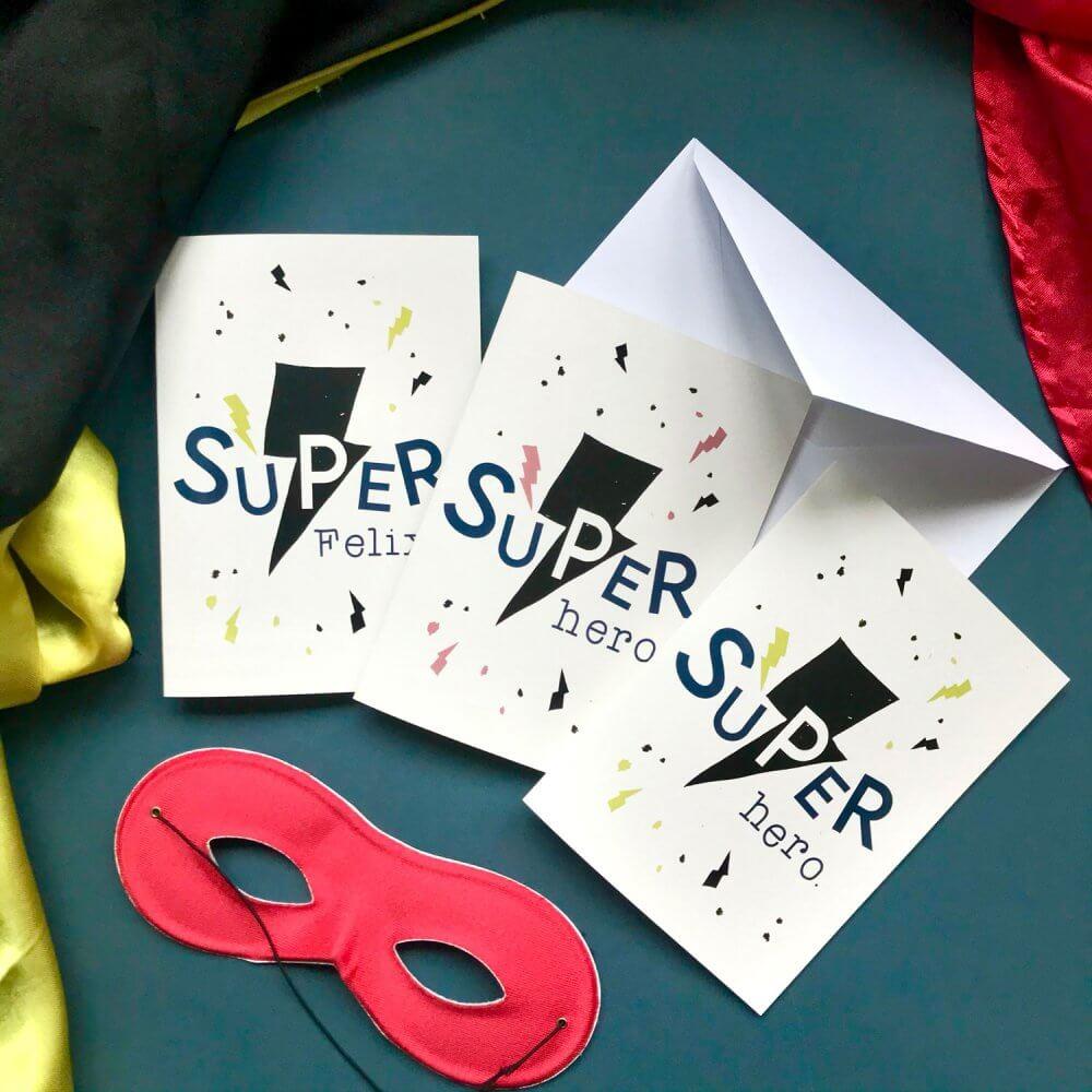 super-hero-card-set